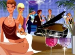 party_of_handsome_and_beautiful_vector_3_154411